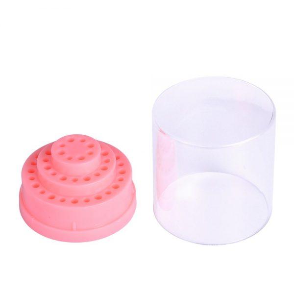 1pc-Plastic-Nail-Art-Drill-Holder-Gel-Polish-Cutter-Storage-Box-Bit-Display-Organizer-Pink-Nail