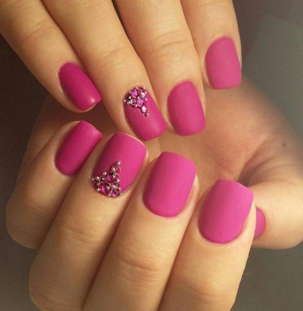 matte-fuchsia-color-manicure-nail-art-idea_XL